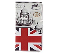 For Wiko Lenny3 Lenny2 Rainbow Jam 4G Pulp EFORCASE British Architecture Painting PU Phone Case