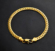cheap -Women's Gold Chain Bracelet - Silver Golden Bracelet For Wedding Party Graduation Engagement Gift Daily