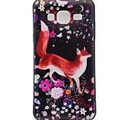 Недорогие -Для samsung galaxy j3 j3 (2016) fox pattern soft tpu задняя крышка телефон чехол