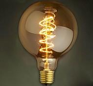 G125 Draht um 40w Glühlampe Edison-Lampen bar Perlenwolframbirne Edison-Glühbirne retro Dekoration