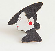 Women's Brooches Black Jewelry Wedding Daily Casual