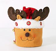 estilo aleatório natal decoração presentes papel ofing ornamento de presente de Natal saco de presente de Natal