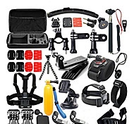 Accessory Kit For Gopro All in One For Action Camera All Gopro Xiaomi Camera SJCAM Wakeboarding Ski/Snowboarding Surfing/SUP Plastic
