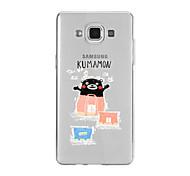 For Samsung A9(2016)A9 Pattern Case Back Cover Case Bear Gift Bag Soft TPU for Samsung A9(2016) A7(2016) A5(2016) A3(2016) A9 A8 A7 A5 A3