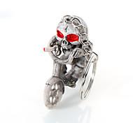Европа и Соединенные Штаты высокого класса качества ключевой цепи креативный бутик велосипед скелет повесить кольцо для ключей