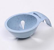 Wheat Straw Kitchen Tool Gadget Convenient Egg Yolk Separator Divider Holder Sieve Random Color