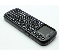 беспроводная клавиатура язык более мини беспроводная клавиатура мультитач сенсорная клавиатура
