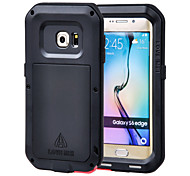 cheap -Case For Samsung Galaxy Samsung Galaxy Case Water / Dirt / Shock Proof Full Body Cases Armor Metal for S6 edge