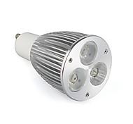 cheap -800-900 lm GU10 LED Spotlight MR16 3 leds High Power LED Warm White AC 85-265V