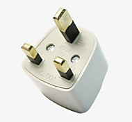 Universal Travel Adapter US AU EU to UK Plug Travel Wall AC Power Adapter