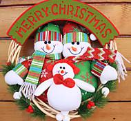 Рождественский венок хвою Новогоднее украшение для диаметра домой партия 30см NAVIDAD новые поставки год