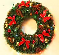 Рождественский венок хвою Новогоднее украшение для диаметра домой партия 40см NAVIDAD новые поставки год