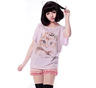 Parrucche lolita Dolce Lolita Parrucche Lolita 35 CM Parrucche Cosplay Tinta unita Parrucche Per