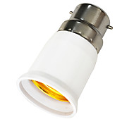 cheap -B22 to E27 E27 Light Socket Plastic