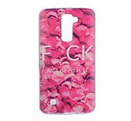For LG V20 V10 Case Cover Flower Pattern Back Cover Soft TPU for K10 K8 K7 G5 G4 G3