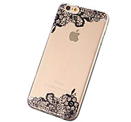Beautiful Lace Printing TPU Soft Case for iPhone 7 7 Plus 6s 6 Plus