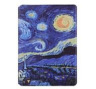 Недорогие -Кейс для Назначение Apple iPad 4/3/2 Бумажник для карт Оригами Чехол Пейзаж Твердый Кожа PU для iPad 4/3/2 Apple
