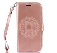 Недорогие -Для lg k10 k8 pu кожа материал datura цветы шаблон бабочка телефон чехол для k7 g4 g3