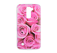 cheap -For LG V20 V10 Case Cover Flower Pattern Back Cover Soft TPU for K10 K8 K7 G5 G4 G3