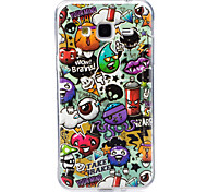 For Case Cover Glow in the Dark IMD Pattern Back Cover Case Cartoon Soft TPU for Samsung Galaxy J7 (2016) J7 J5 (2016) J5 J3 (2016) J3