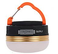 Lanternes & Lampes de tente LED Lumens 3 Mode LED Rechargeable Transport Facile Sans-Fil Taille Compacte pour