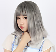 Sweet Lolita Gray Color Gradient Lolita Wig 40cm CM Cosplay Wigs Wig For