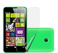 (6 piezas) Protector de pantalla de alta definición para Nokia Lumia 630/635