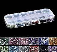 cheap -1 Rhinestones Nail Jewelry Sequins Stylish Ordinary Lovely Nail Art Design