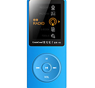 Portable MP3 Support WMA WAV OGG FLAC APE AAC Rechargeable Li-ion Battery