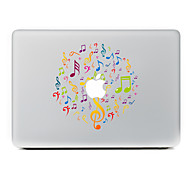 Musical Notation Colors Decorative Skin Sticker for MacBook Air/Pro/Pro with Retina