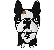 3D New Bulldog Silicone Case for iPhone 7 7 Plus 6s 6 Plus SE 5s 5