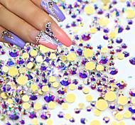 1pack Nail Art Decoration Rhinestone Pearls Makeup Cosmetic Nail Art Design
