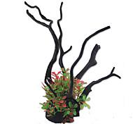 Недорогие -Оформление аквариума Растения Искусственная Резина