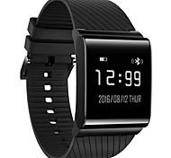 Ip67 impermeabile monitoraggio di frequenza cardiaca della pressione sanguigna anti braccialetto astuto perso del bluetooth per ios android