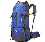 60 L Daypack Travel Organizer Backpack Hiking & Backpacking Pack Climbing Leisure Sports Traveling Camping & HikingWaterproof Wearable