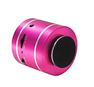 economico -D3+ Mini Supporto memory card Supporto FM Suono surround mic Bult-in AUX 3.5mm USB altoparlante senza fili Nero Argento Fucsia Azzurro