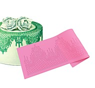 Castle Silicone Cake Lace Mat High Quality Cake Mold,Baking Tool