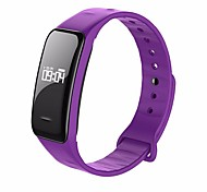 cheap -Smart Bracelet YYC1 for iOS / Android / IPhone Touch Screen / Heart Rate Monitor / Calories Burned Activity Tracker / Sleep Tracker /