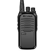 baratos -wanhua Rádio de Comunicação Portátil Analógico Monitoramento > 10 km > 10 km 16 3500.0 6 Walkie Talkie Dois canais de rádio