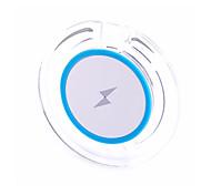 Недорогие -Беспроводное зарядное устройство Телефон USB-зарядное устройство Универсальный Беспроводное зарядное устройство 1 USB порт 1A DC 5V Для