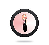 Portable  5V 2A Sexy Girl Wireless Charging Pad/Stand for All QI-Enabled Devices Samsung Galaxy S7  S7 Edge S6   S6 EdgeGoogle Nexus 4  5