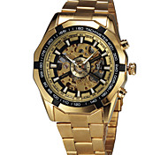 Men's Fashion Watch Wrist watch Mechanical Watch Automatic self-winding Swiss Designer Alloy Band Vintage Casual Multi-Colored
