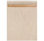 samdi мягкие деревянные коврик для мыши коврик многофункциональный с держателем ручки ультра гладкой поверхностью для мыши с твердой