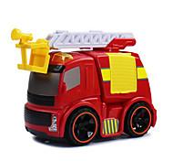 Недорогие -Игрушки Инерционная машинка Пожарная машина Игрушки Грузовик Металл Творчество Классический и неустаревающий 1 Куски Мальчики Девочки