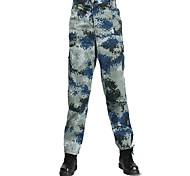 Муж. Жен. Универсальные Камуфляжные брюки для охоты Тактический камуфляж Нижняя часть для Охота S M L XL XXL