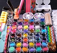 Недорогие -2000 Наборы и наборы для ногтей Инструменты сделай-сам Изысканный и современный Романтика Милый модный Дизайн ногтей Файлы для ногтей