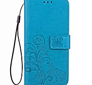 cheap -Case For Google Card Holder Wallet Full Body Cases Solid Color Soft PU Leather for Google Pixel XL Google Pixel