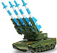 Недорогие -Игрушки Наборы для моделирования Военная техника Игрушки Выдвижной Танк пластик Металл ABS Классический и неустаревающий Изысканный и