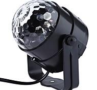 Недорогие -1шт новый genaration привело кристалл магический шар 3w мини-RGB сценического освещения эффект колбы лампы вечеринка диско-клуб DJ Light
