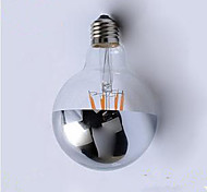 abordables -E26/E27 Bombillas de Filamento LED G95 4 leds LED Integrado Decorativa Blanco Cálido 400lm 2700K AC220V